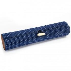 caja bambú azul